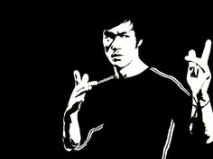 Black and White Bruce Lee http://www.wallpaperhere.com/Celebrities/Male_Celebrities/Black_and_White_Bruce_Lee_64343/download_preview