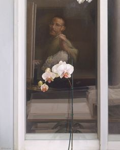 Eduardo Naranjo, ORQUIDEA IV (LA NOCHE). 1999. Óleo sobre lienzo
