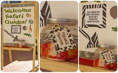 {MY PARTIES} safari birthday party - by Creative Juice