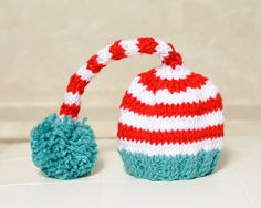 Dr.  Seuss baby hat