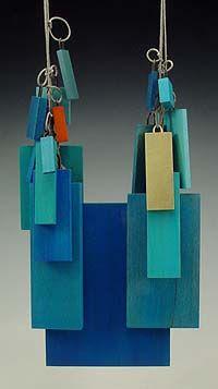 wood, stain, 18k gold, linen, steel. (12cm x 8cm x 3cm). Julia Turnerhttp://velvetdavinci.com/allimages.php?action=artist=1=3=3