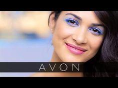 Blue Eyeshadow Spring Makeup Tutorial with Lauren Andersen | Avon Shop here --> youravon.com/tseagraves