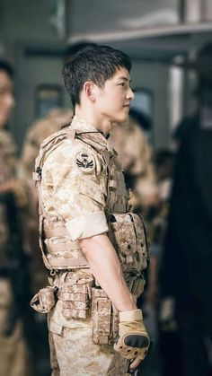 Korean Star, Korean Men, Korean Actors, Drama Korea, Korean Drama, Descendants, Song Joong Ki Dots, Soon Joong Ki, Decendants Of The Sun