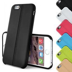 Handy Hülle für iPhone Back Cover Silikon Bumper Schutz Hülle TPU Stitch Design…