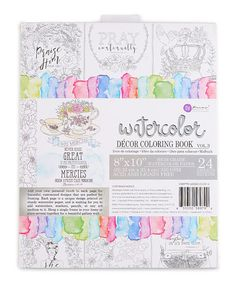 This Faith Based Watercoloring Book Is Perfect Zulilyfinds