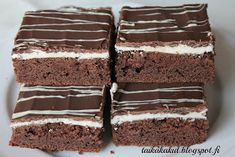 Tarun Taikakakut: Kinderpiirakka / Suklaapiirakka Tiramisu, Food And Drink, Tasty, Sweets, Chocolate, Cooking, Ethnic Recipes, Desserts, Kids