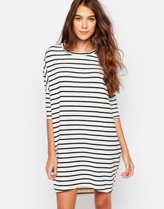 Image 1 of Pull&Bear Stripes Dress