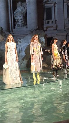 Roman Holiday—Vogue's Hamish Bowles Behind the Scenes of Fendi's Couture Show