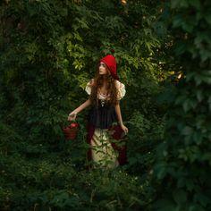 500px / Little Red Riding Hood by Anastasiia Tripolka - wonderful