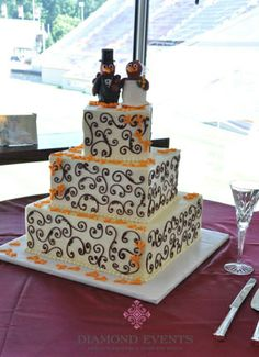 If only a Hokie cake had been available when Kris and I got married...