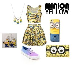 """""""Love Minion"""" by shad0whunter31 ❤ liked on Polyvore"""