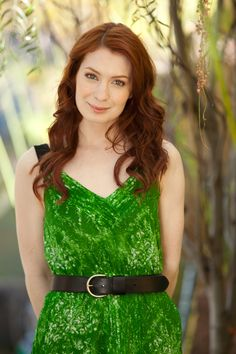 Felicia Day #cute #dress