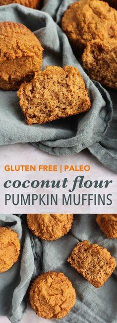 Coconut Flour Pumpkin Muffins | Empowered Sustenance
