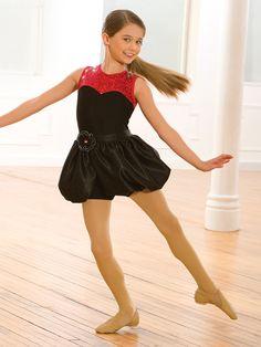 Let's Dance - Style 0468 | Revolution Dancewear Jazz/Tap Dance Recital Costume