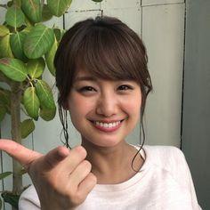 井上清華アナ Asian Girl, Hoop Earrings, Kawaii, Cute, Beautiful, Beauty, Seika, Bicycle, Instagram