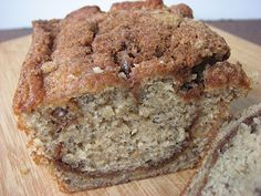 Heidi Bakes: Trisha Yearwood's banana bread with a twist. this was so yummy. my opinion this really only makes one loaf though. Just Desserts, Delicious Desserts, Dessert Recipes, Yummy Food, Filet Mignon Chorizo, Food Network Recipes, Cooking Recipes, Nut Bread Recipe, Moist Banana Bread