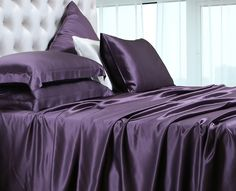 30 Momme Silk Sheets Silk Pillowcases (131)