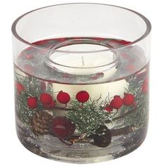 Holiday Forest Gel Candle