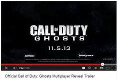 Trailer do modo online do Ghosts, Call Of Duty - Blog do Robson dos Anjos