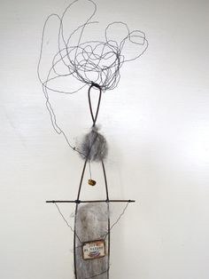 Joy in Nature #Driftwood and #Wire #Sculpture ©2014 #idestudiet™ ART+EARTH All rights reserved