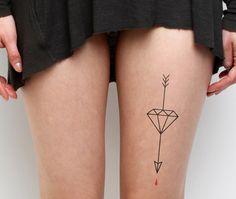 Cupidity - temporary tattoo