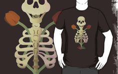 New Artwork in Redbubble! Old bones with dark nature is avaiable in the shop, you can buy shirt,tee,mugs, and more!