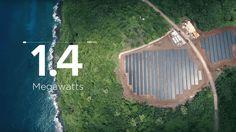 È ormai una realtà: l'Isola Alimentata Solo da Energia Solare esiste ed é nelle Samoa Americane in mezzo all'Oceano Pacifico