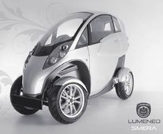 Lumeneo Smera 4 Wheelers Vespa Scooters Small Cars Electric Vehicle