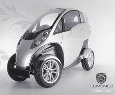 Lumeneo Smera Vespa Scooters Toyota Electric Vehicle Small Cars Peugeot