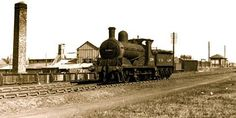 How Sutton Oak station looked in 1951