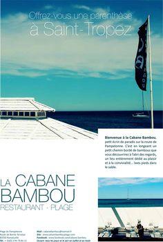 Plage Cabane Bambou  Ramatuelle. kid friendly