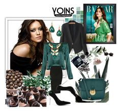 """""""YOINS II / 6"""" by ramiza-rotic ❤ liked on Polyvore featuring moda, Accessorize, women's clothing, women's fashion, women, female, woman, misses, juniors y yoins"""