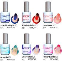 90 Best mood changing nails images | Mood gel polish, Mood changing ...