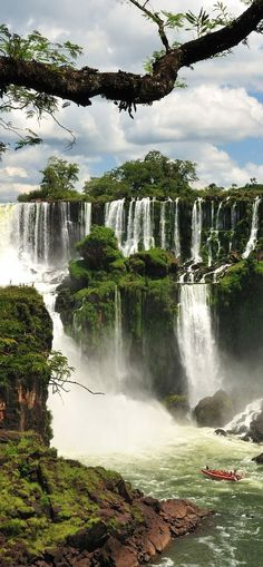 Iguazu Falls (Argentina and Brazil)