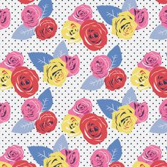 Amelia Rose Print Fabric
