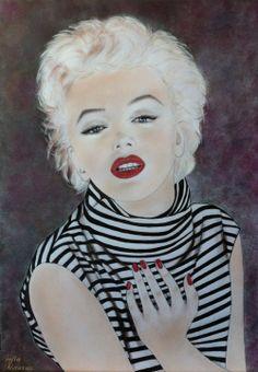 My drawing Marilyn Monroe