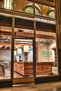 Stella Good Coffee Cafe | Fisher Building | New Center, Detroit