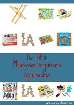 Die Top 11: Montessori inspirierte Spielsachen