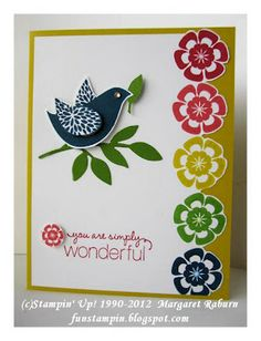 Fun Stampin with Margaret!: Betsys Blossoms In Color!
