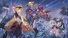 "Criin on Twitter: ""#原神 #GenshinImpact ☄️☄️☄️A new star approaches… "" Cute Anime Wallpaper, Computer Wallpaper, Wallpaper Desktop, Fanart, Animation, New Star, First Art, Albedo, Animes Wallpapers"