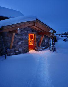Ski Room - Entrance Idea