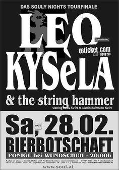 Bierbotschaft – Herzog Bierwirtshaus & Brauerei: LEO KYSèLA and The STRING HAMMER Leo, Star Wars, Herzog, Brewery, Lion, Starwars, Star Wars Art
