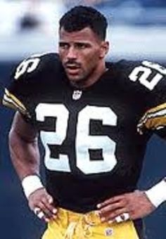 Rod Woodson, Pittsburgh Steelers woodson with the Chico Debarge cut!