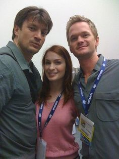 Nathan Fillion, Felicia Day, Neil Patrick Harris...Whedon Love. And Canadian Love.