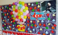 Child Day, Class Projects, Classroom Decor, Special Day, Origami, Origami Paper, Origami Art, School Projects