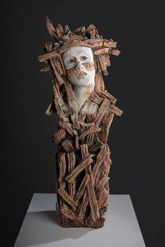 """Aimee Perez; Sculpture, """"The Dweller"""" #art"""