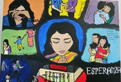 Custom painting by one of Christina Bacca's students