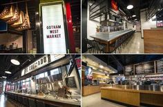 Inside NYC's Newly Opened Gotham West Market, An All-Star Upscale Food Hall. 11th Ave bet 44th & 45th in Hell's Kitchen.