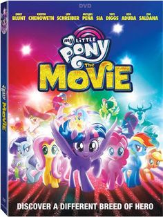 Confessions of a Frugal Mind: My Little Pony: The Movie on DVD $3.74 Hero's Journey, Emily Blunt, Family Movies, New Movies, Pony 2, Lionsgate Movies, Tara Strong, My Little Pony Movie, Imagenes My Little Pony