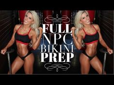 NPC Bikini Prep 1: How many meals to eat, Shoulder workout, & Morning Supplements. - YouTube